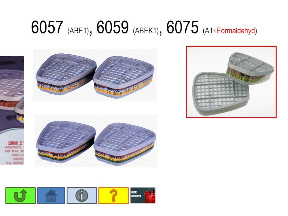 6057 (ABE1), 6059 (ABEK1), 6075 (A1+Formaldehyd)