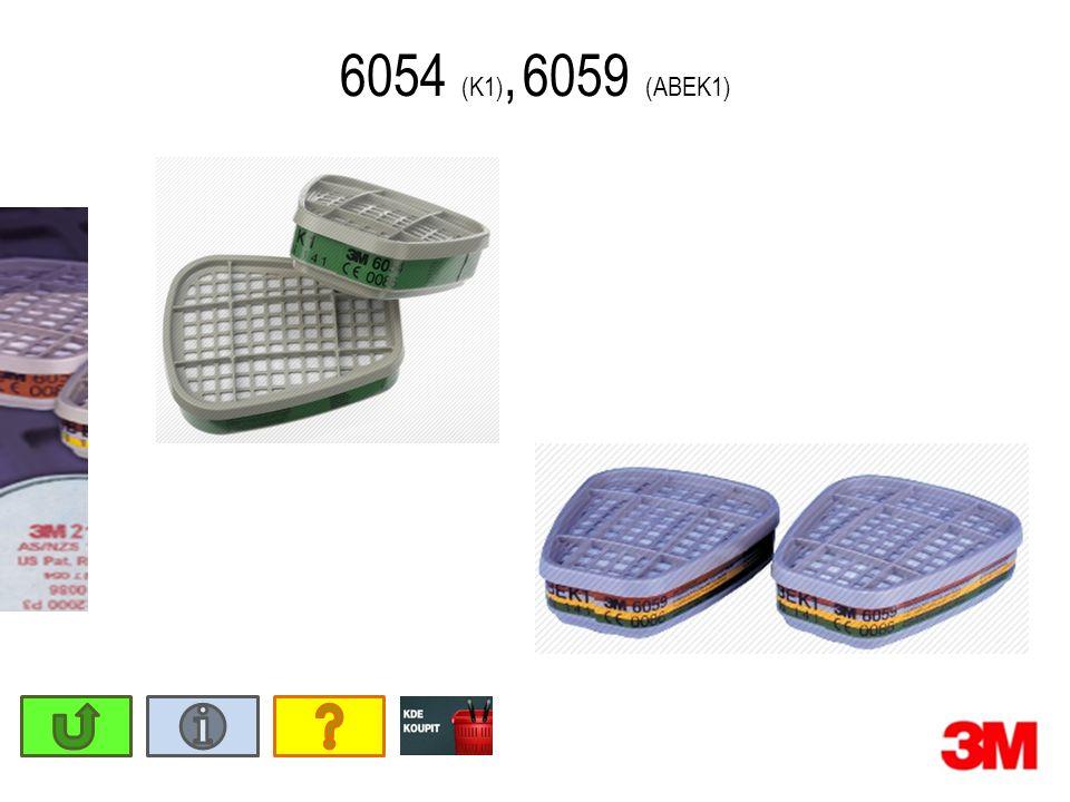 6054 (K1), 6059 (ABEK1)