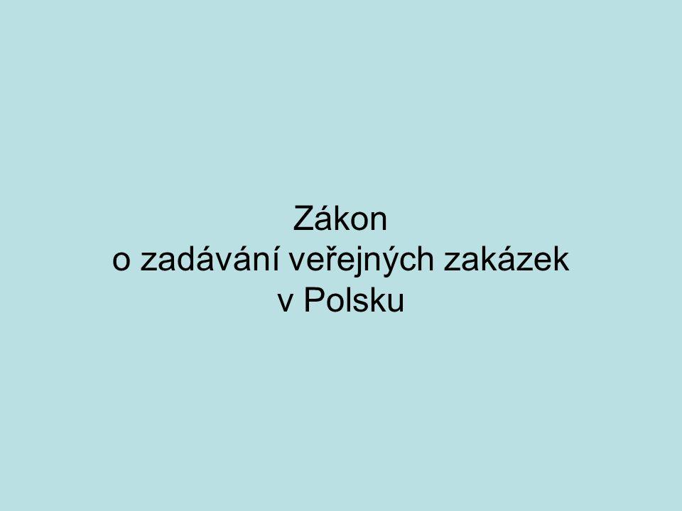 Zákon o zadávání veřejných zakázek v Polsku