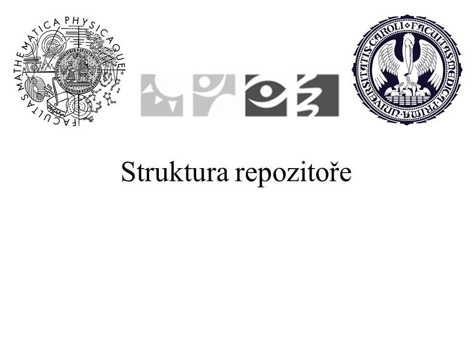 Struktura repozitoře