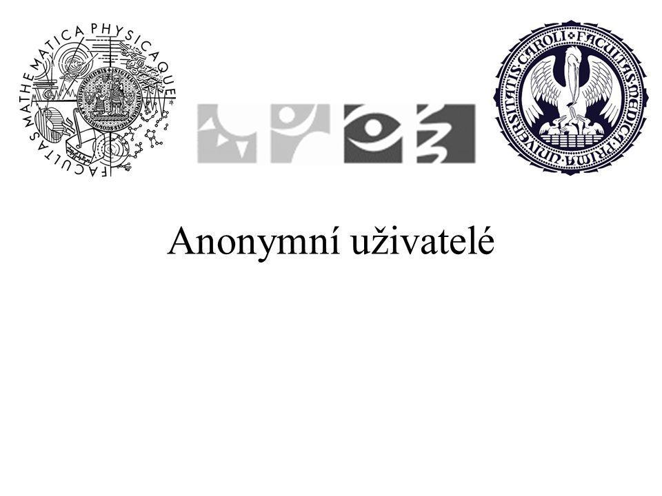 Anonymní uživatelé