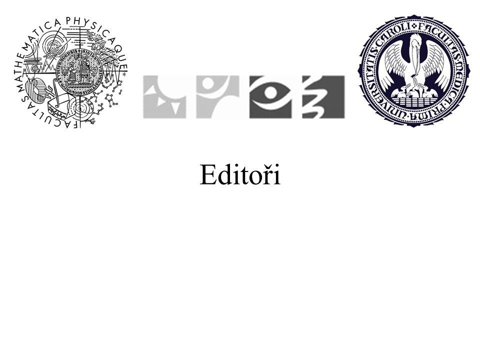 Editoři