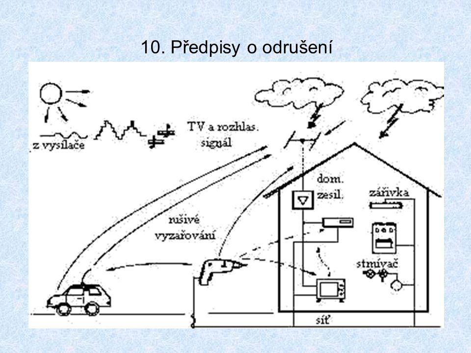 10. Předpisy o odrušení