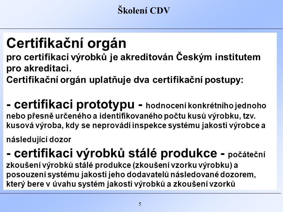 Školení CDV 6 Normy Technické podmínky MD PPK ŘSD Politika jakosti PK Systém správy PK