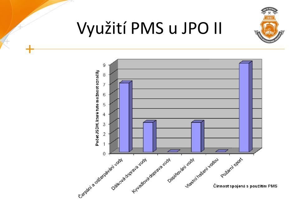 Využití PMS u JPO II