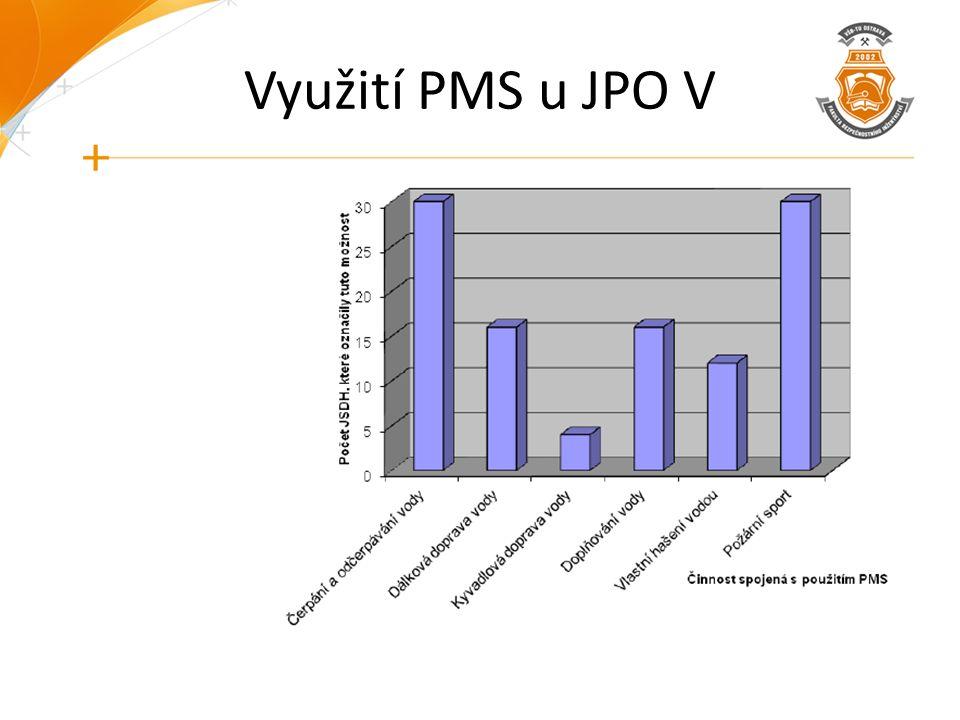 Využití PMS u JPO V