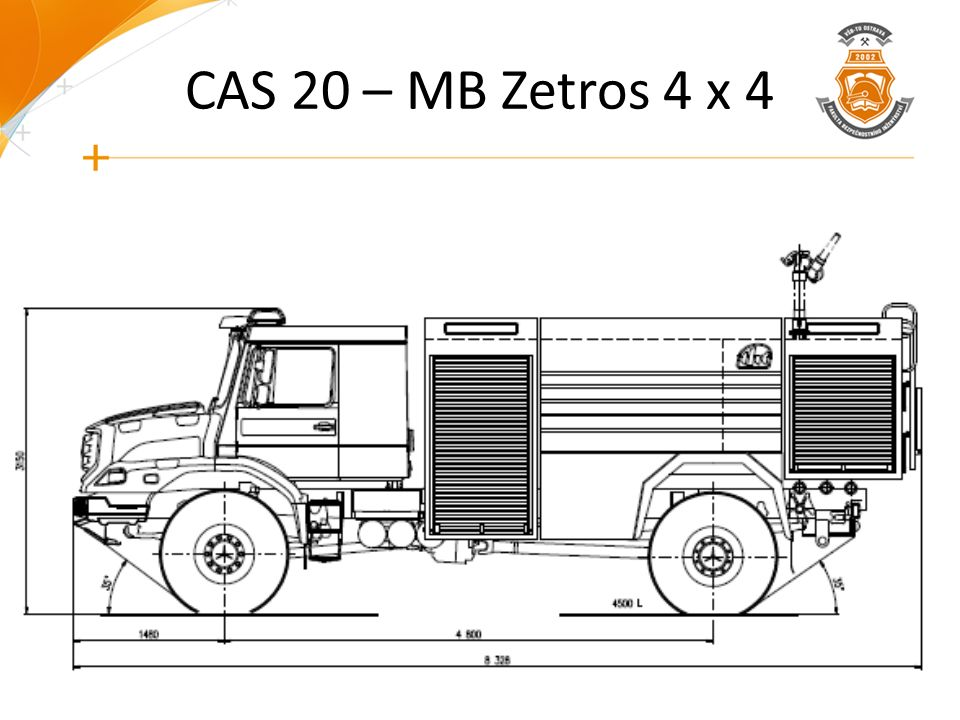 CAS 20 – MB Zetros 4 x 4