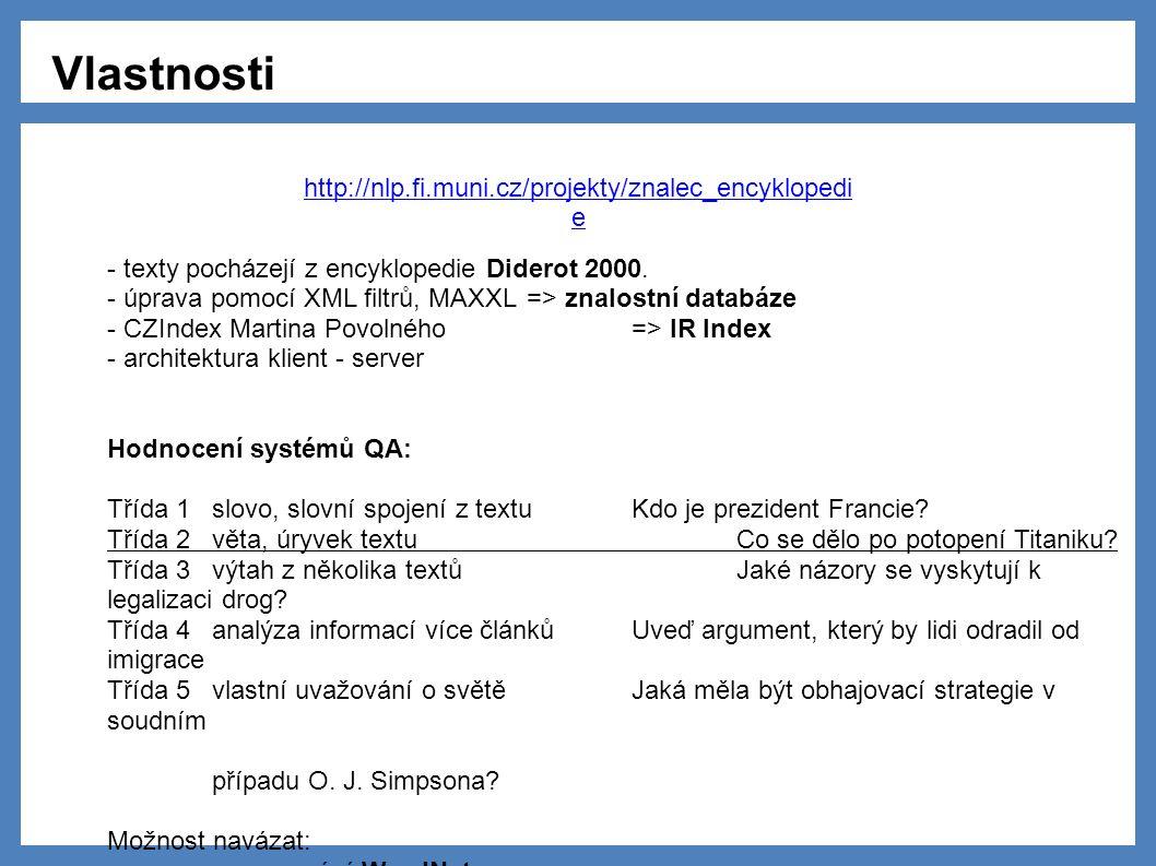 - texty pocházejí z encyklopedie Diderot 2000.