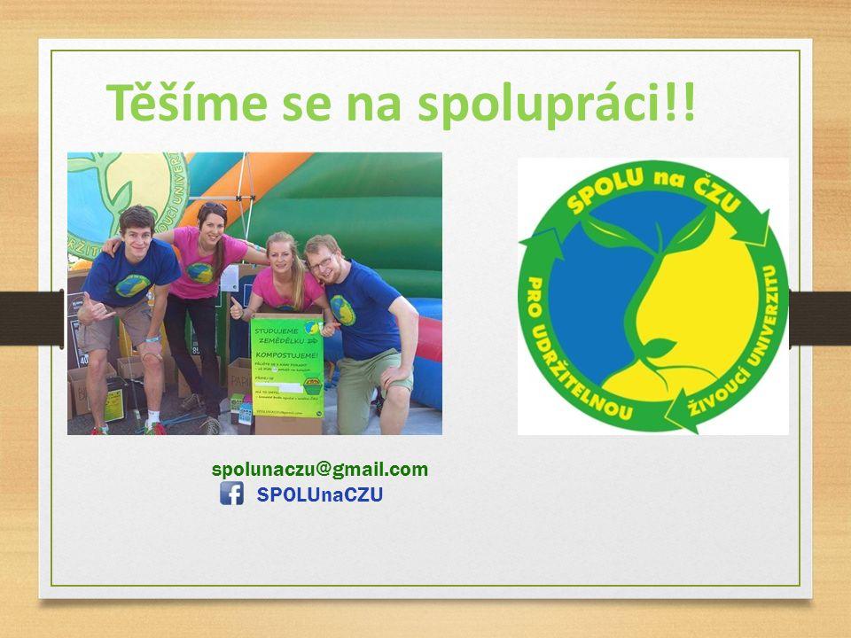 Těšíme se na spolupráci!! spolunaczu@gmail.com SPOLUnaCZU