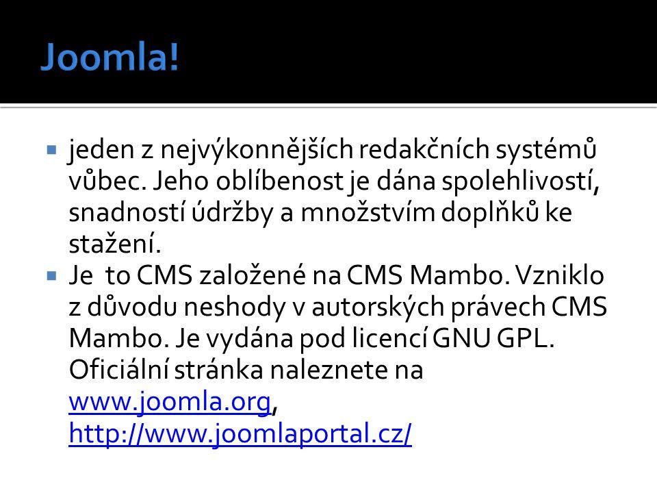 výborné lokalizaci do českého jazyka a široké komunitě (i českých) uživatelů.