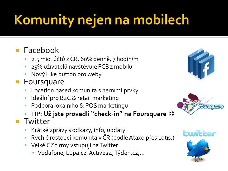  Facebook  2.5 mio.