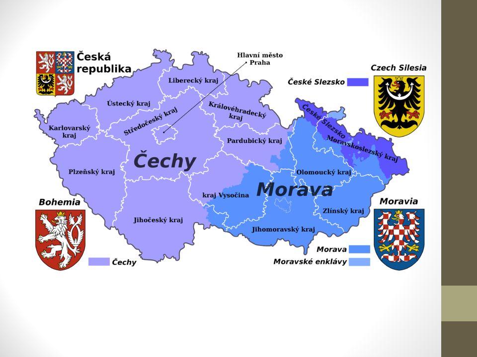 Pardubický kraj Pomezí Čech a Moravy – názvy např.