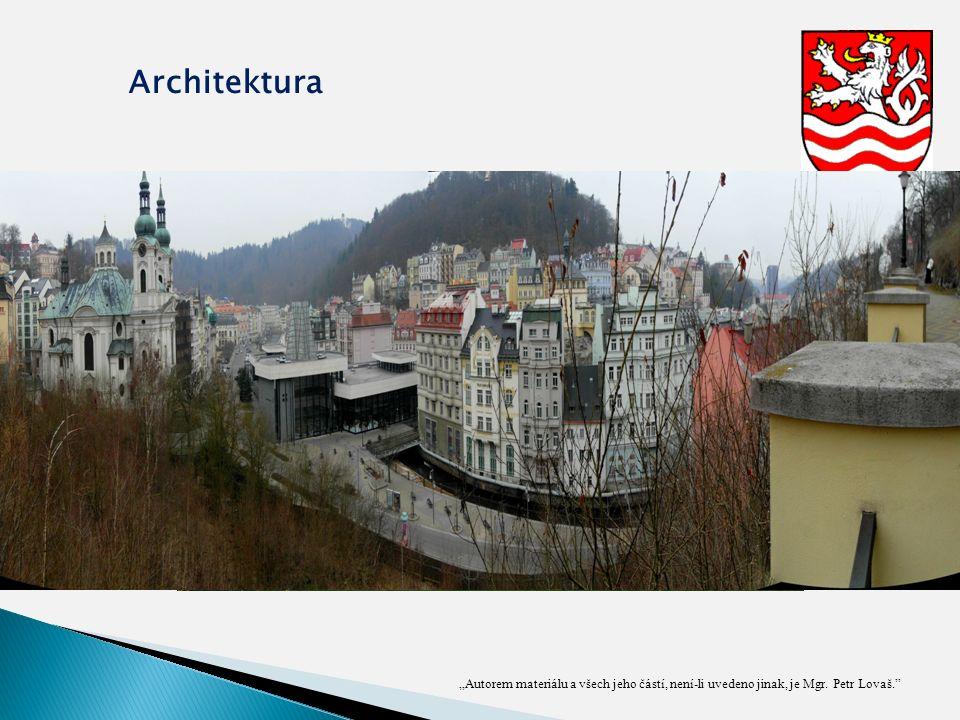 """""""Autorem materiálu a všech jeho částí, není-li uvedeno jinak, je Mgr. Petr Lovaš."""" Architektura"""