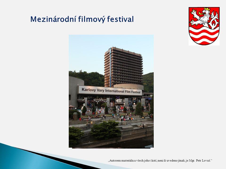 """""""Autorem materiálu a všech jeho částí, není-li uvedeno jinak, je Mgr. Petr Lovaš."""" Mezinárodní filmový festival"""