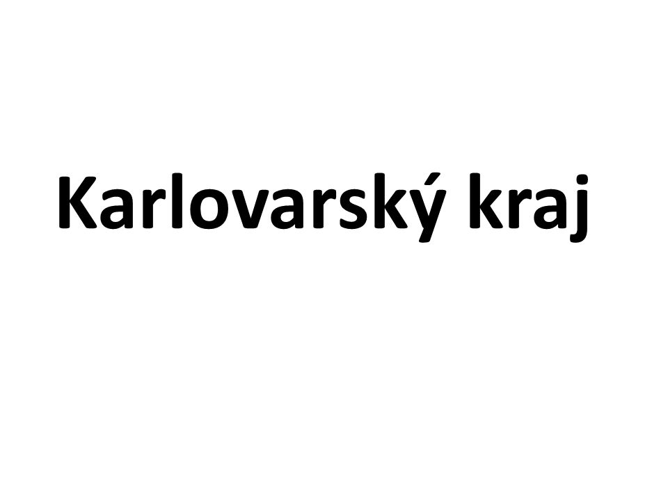 Pramen Ohře Ohře u Karlových Varů VN Skalka VN Jesenice