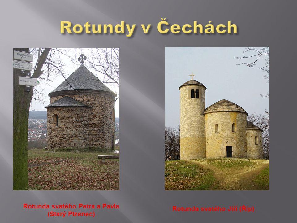 Rotunda svatého Petra a Pavla (Starý Plzenec) Rotunda svatého Jiří (Říp)