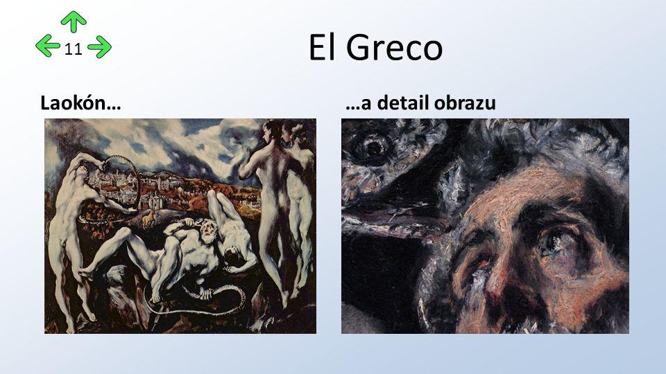El Greco Laokón……a detail obrazu 11