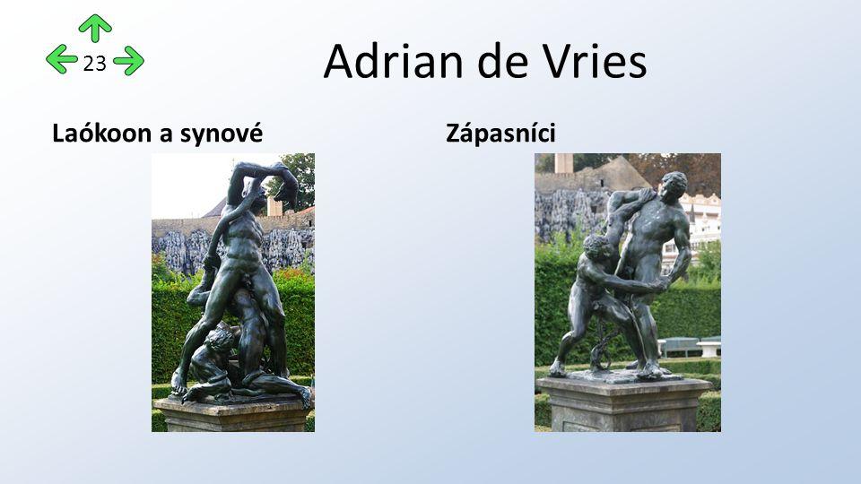 Adrian de Vries Laókoon a synovéZápasníci 23