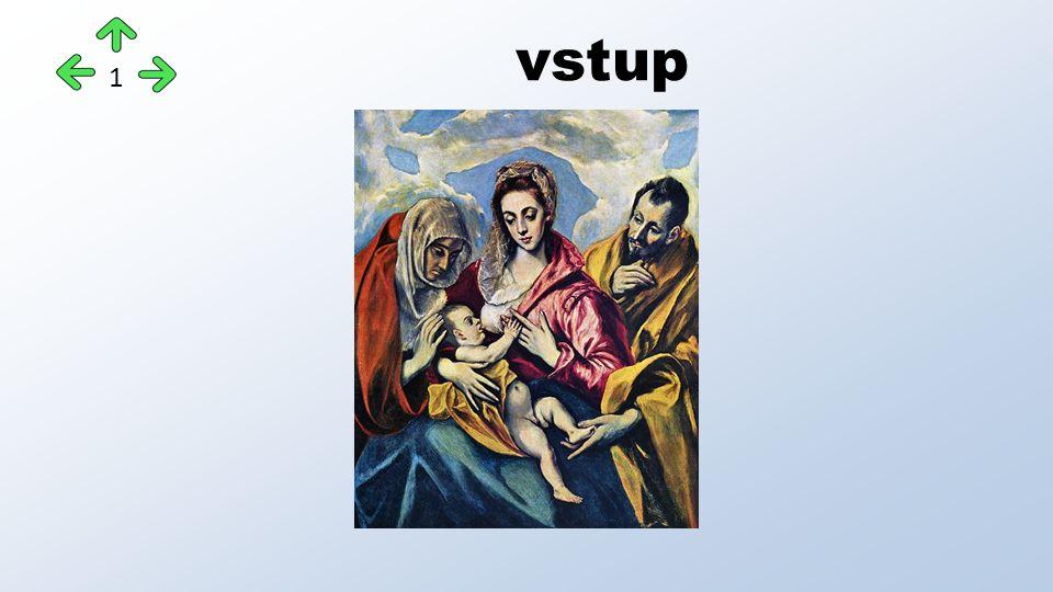 El Greco Ukřižování KristaSvatá rodina 12
