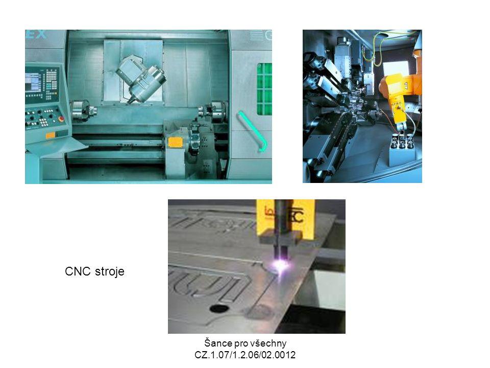 Šance pro všechny CZ.1.07/1.2.06/02.0012 CNC stroje