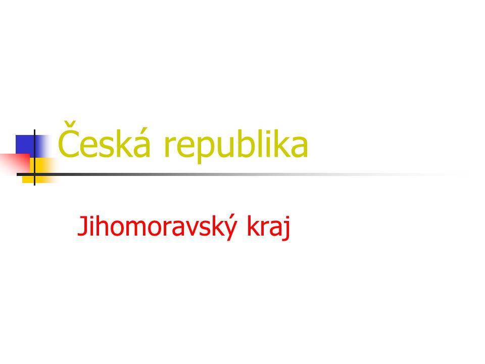 Česká republika Jihomoravský kraj