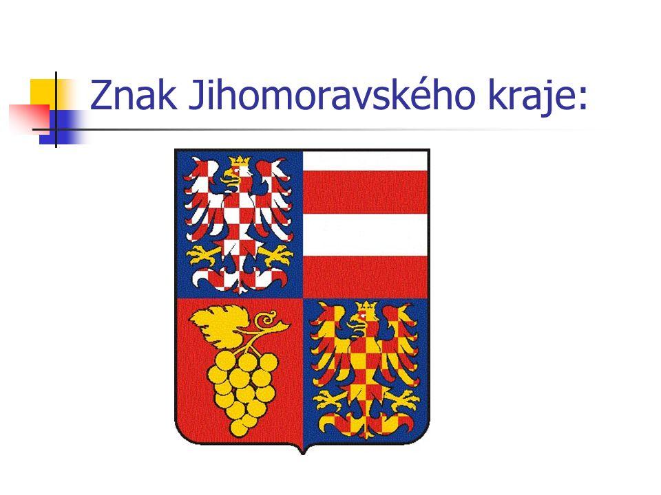 Znak Jihomoravského kraje:
