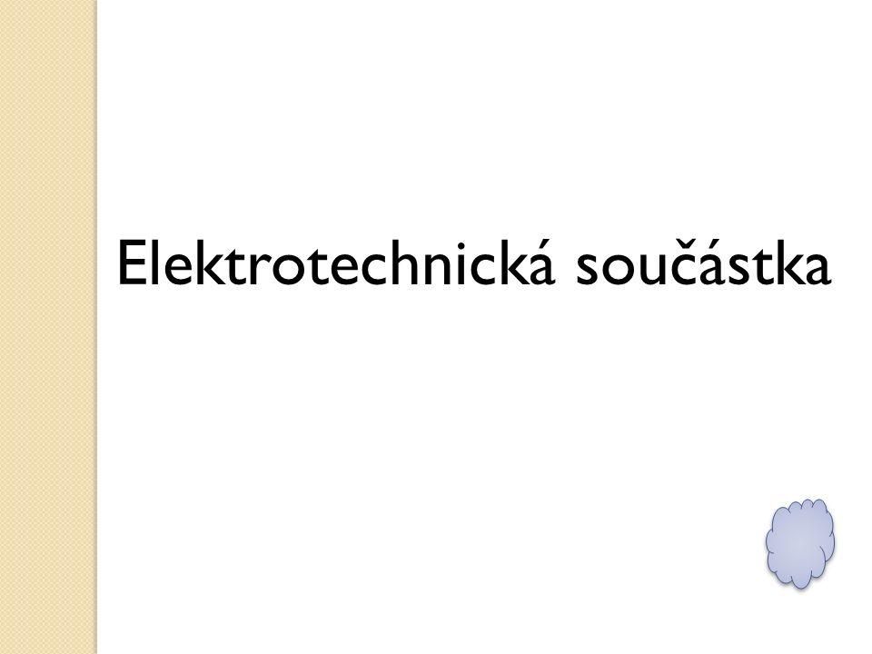 Elektrotechnická součástka