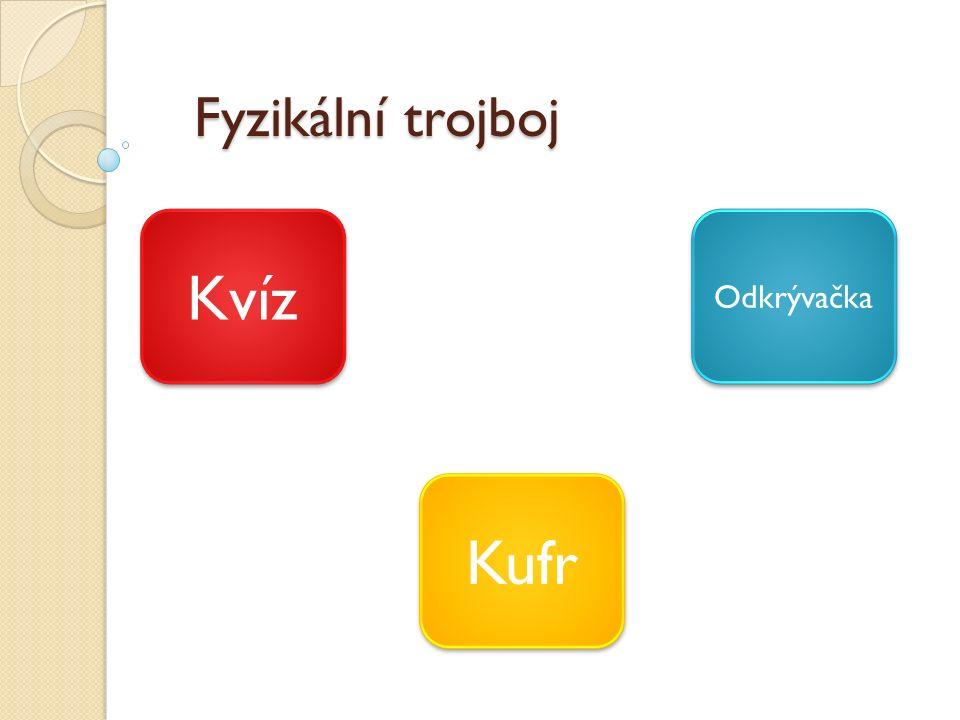 Fyzikální trojboj Kvíz Kufr Odkrývačka
