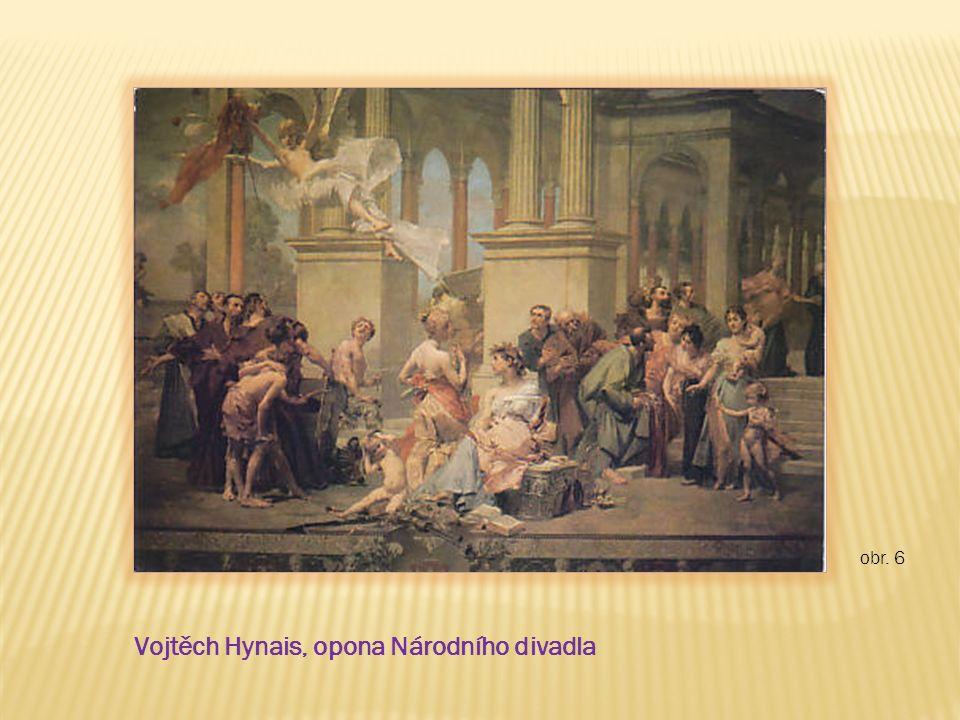 obr. 6 Vojtěch Hynais, opona Národního divadla
