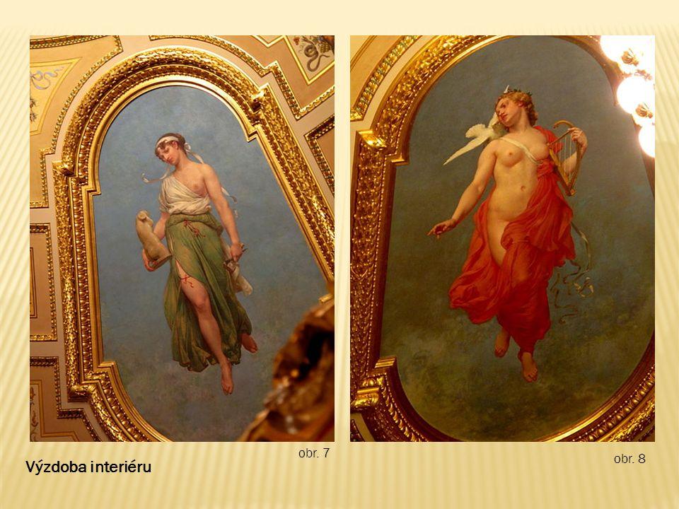 obr. 9 Výzdoba interiéru