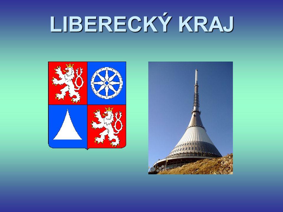 S kterými kraji sousedí Liberecký kraj? Ústecký Královehradecký Středočeský 1 2 3