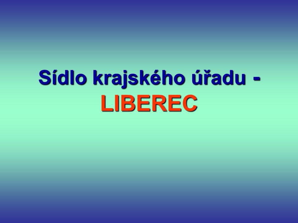Sídlo krajského úřadu - LIBEREC
