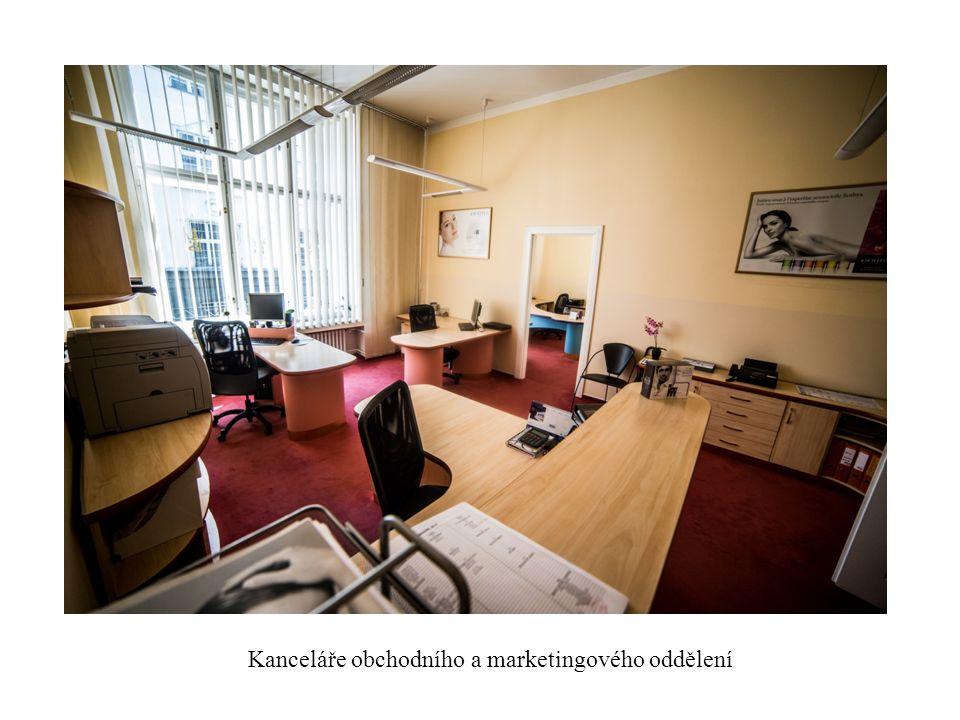 Kanceláře obchodního a marketingového oddělení