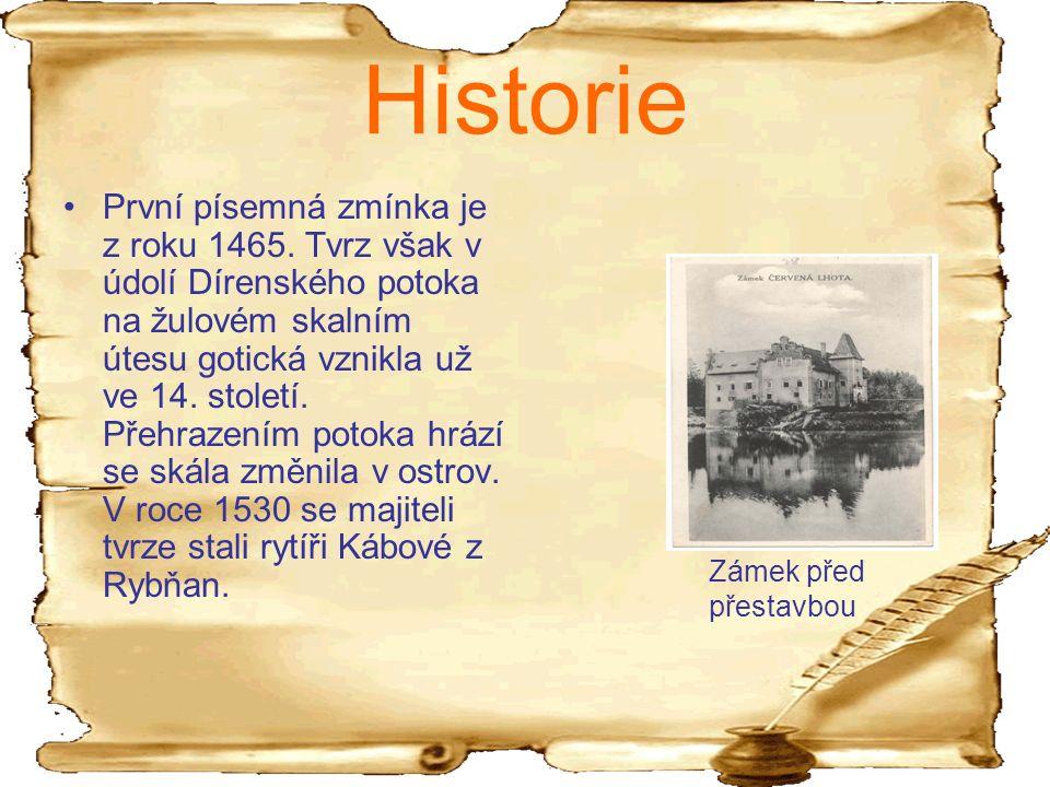 Kdo nechal zámeček přestavět na renesanční? A) Jan Kába B)Karel IV. C)Karel Čapek