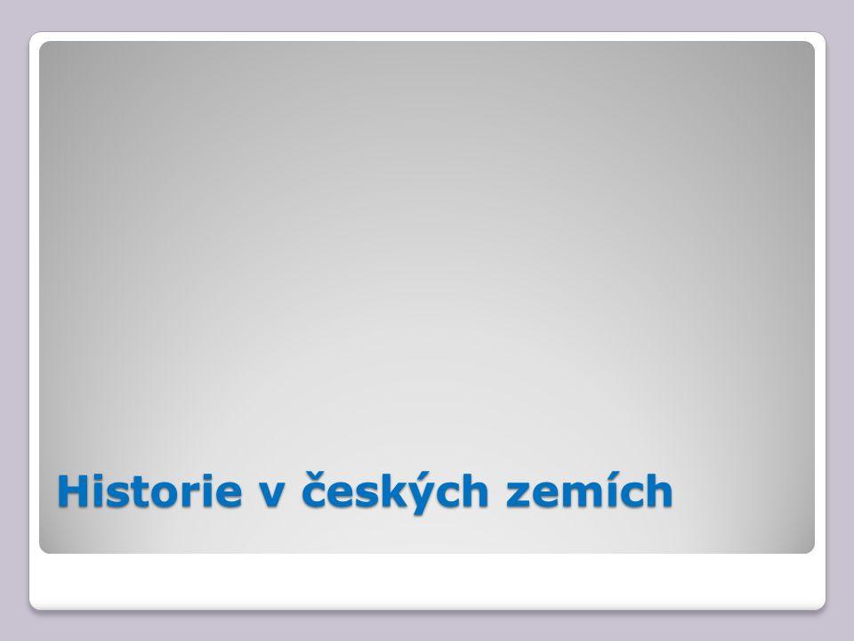 Historie v českých zemích