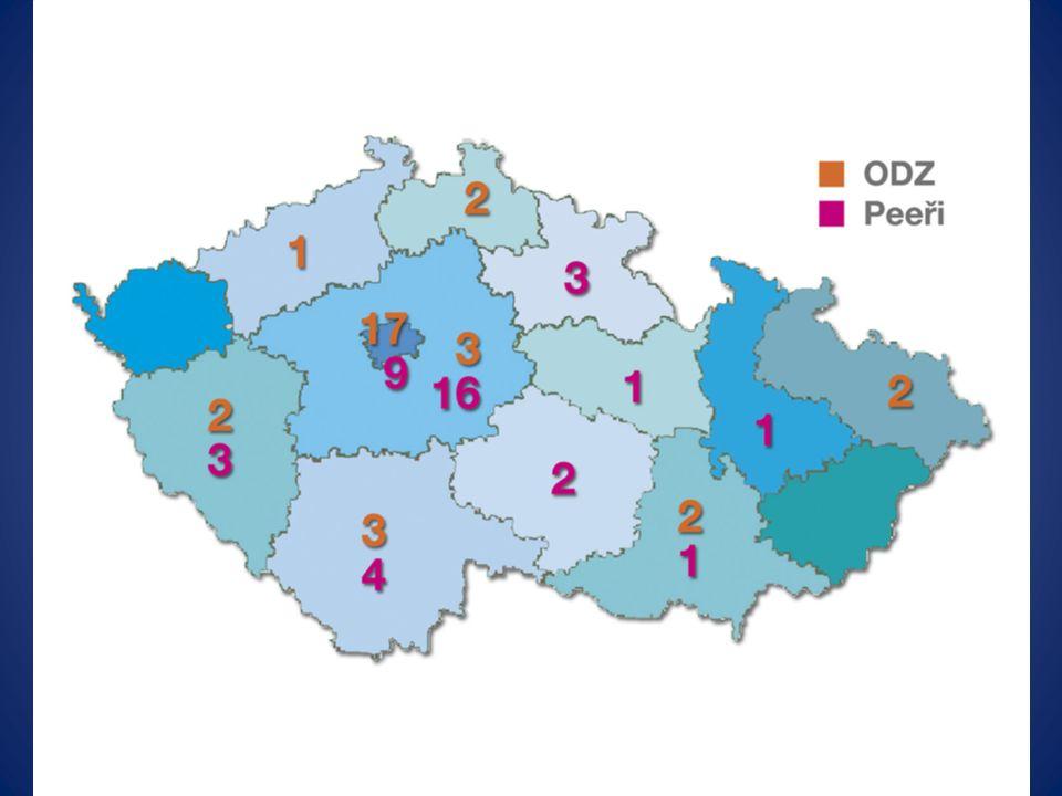 Období druhé (období sdružování, počátky systému, 2008 - 2009) Vstup MZČR – podpora pracovních konferencí: 1.