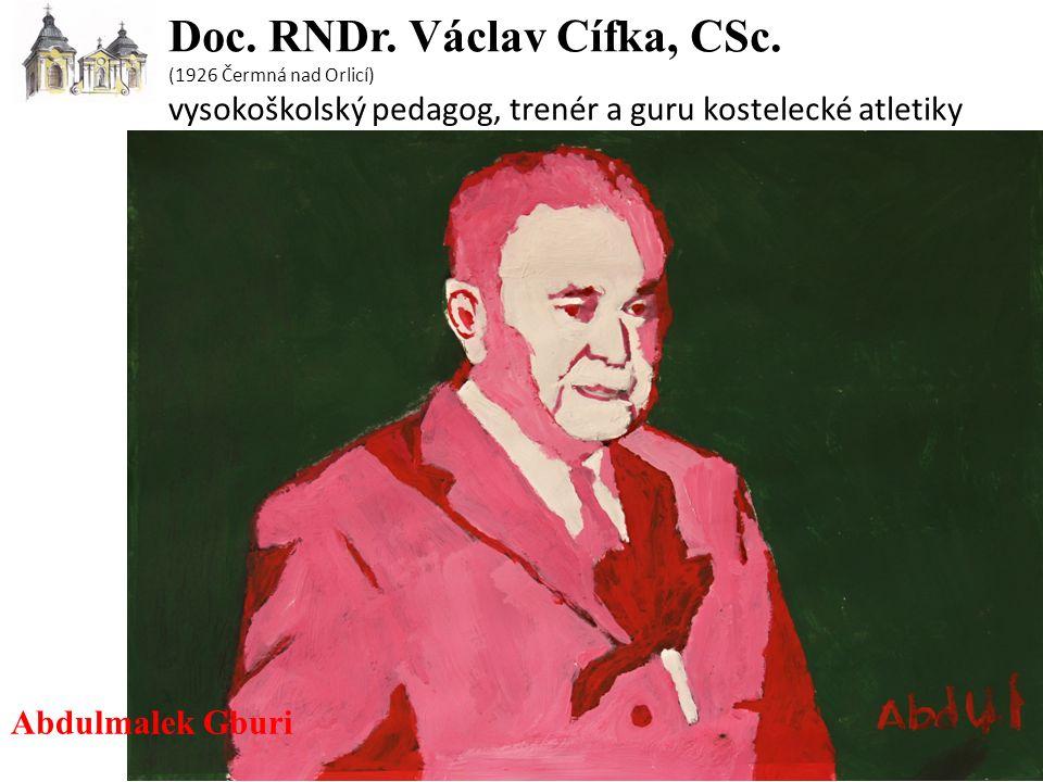 Doc. RNDr. Václav Cífka, CSc.