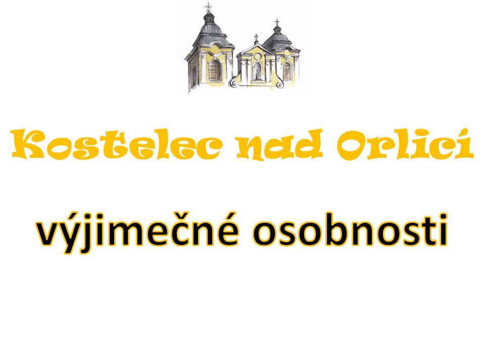 Žáci 2.stupně se seznamovali s význačnými rodáky z Kostelce nad Orlicí.