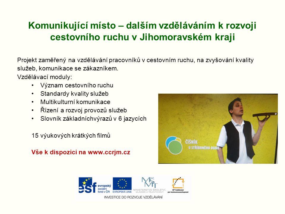 Vědět a předávat (OPVK) Tematické okruhy: - JMK a město Brno jako centrum vědy – Gregor Johan Mendel - JMK a město Brno kulturní – Leoš Janáček - Osobnost T.