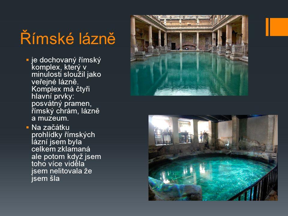 Římské lázně  je dochovaný římský komplex, který v minulosti sloužil jako veřejné lázně. Komplex má čtyři hlavní prvky: posvátný pramen, římský chrám