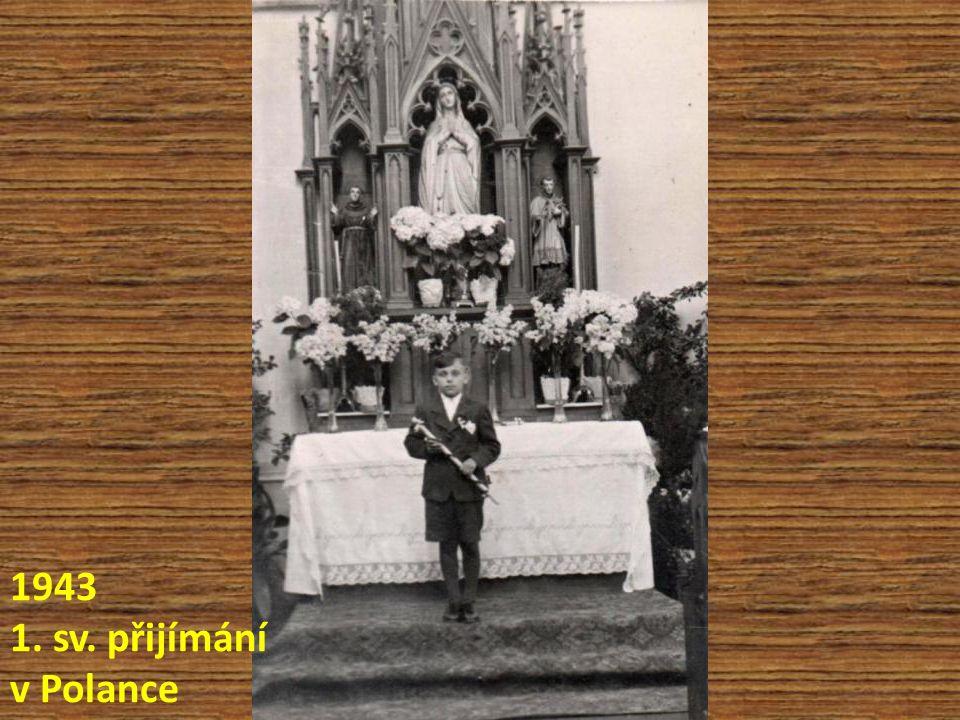 1943 1. sv. přijímání v Polance