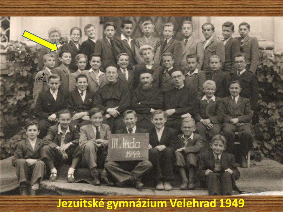 Jezuitské gymnázium Velehrad 1949