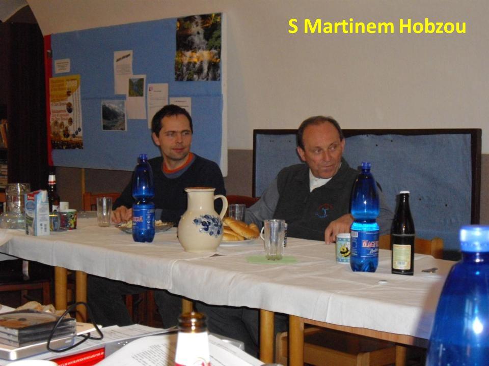 S Martinem Hobzou
