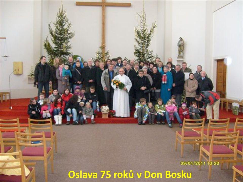 Oslava 75 roků v Don Bosku