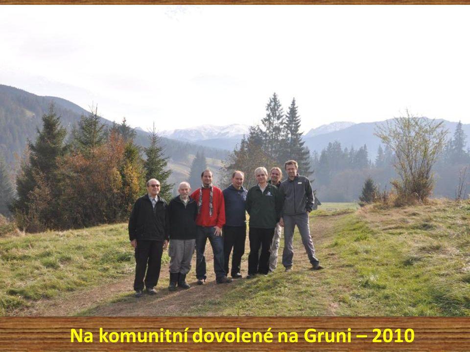 Na komunitní dovolené na Gruni – 2010