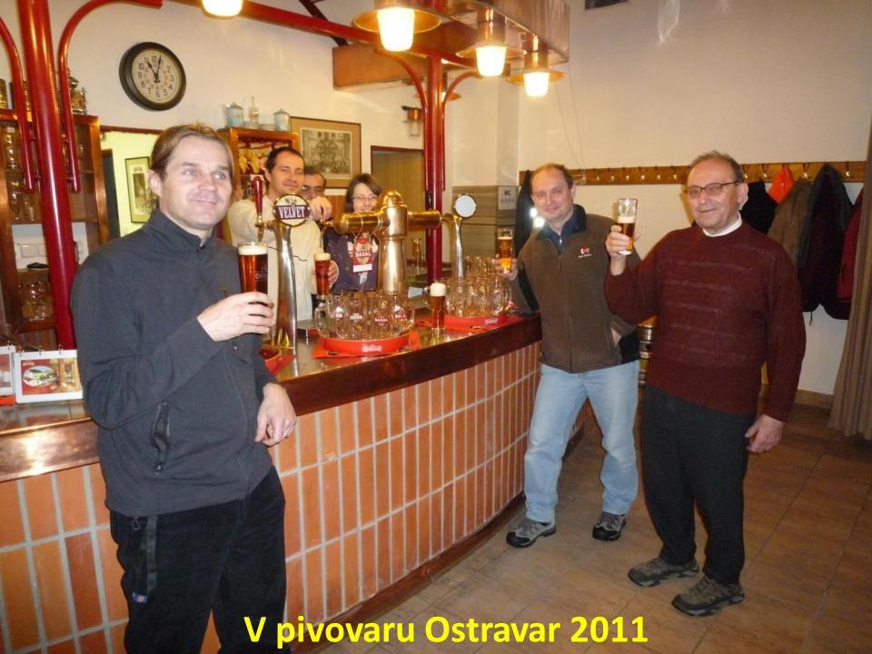 V pivovaru Ostravar 2011
