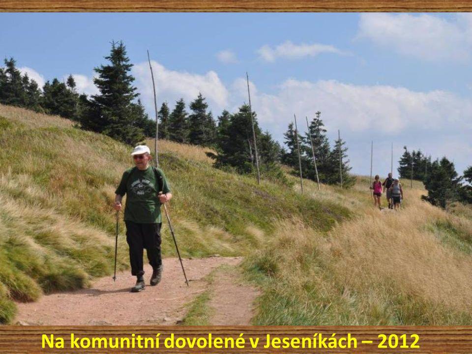 Na komunitní dovolené v Jeseníkách – 2012