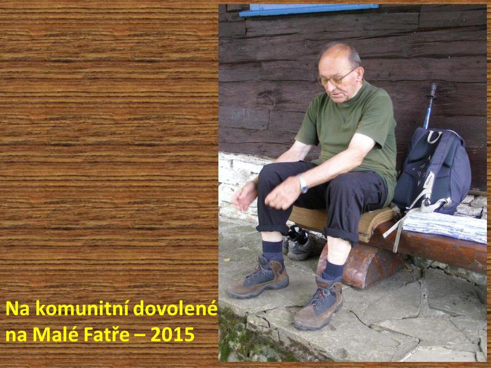 Na komunitní dovolené na Malé Fatře – 2015