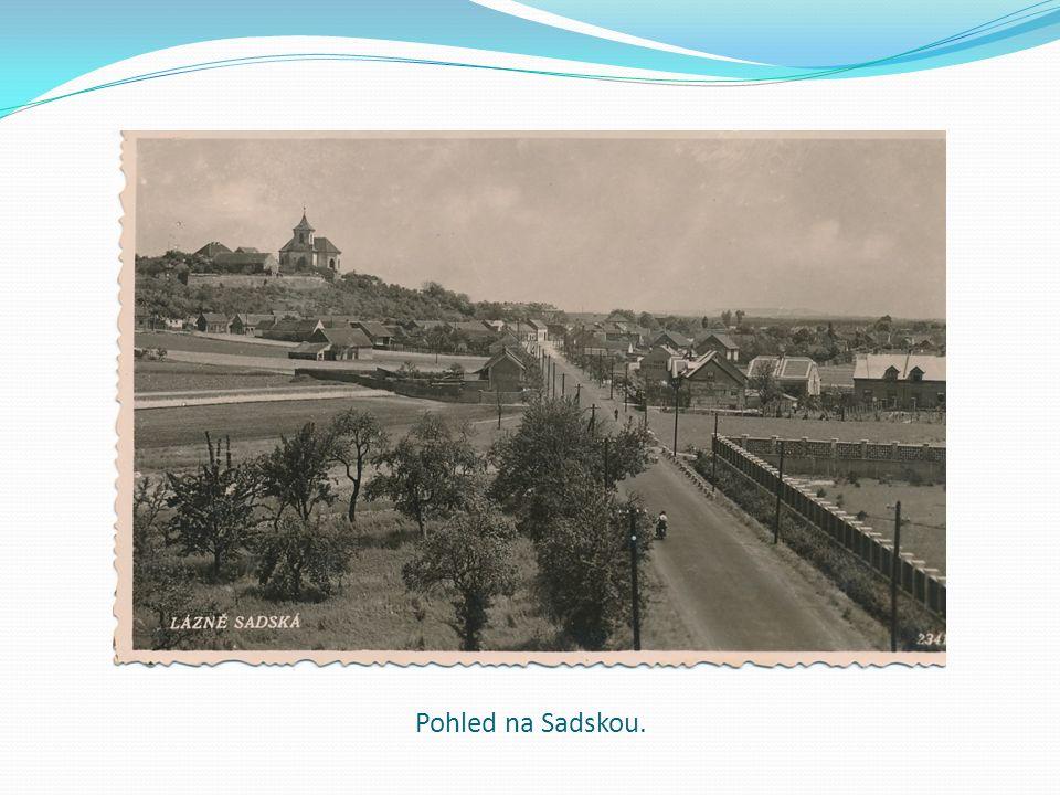 Pohled na Sadskou.