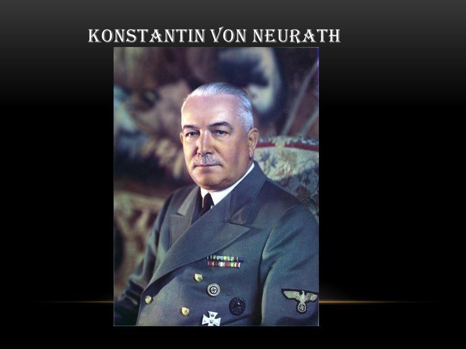 KONSTANTIN VON NEURATH